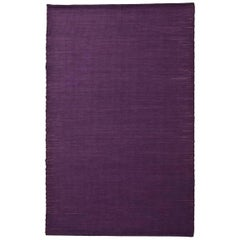Tatami Standard Purple Wool and Jute Rug by Nani Marquina & Ariadna Miquel