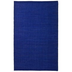 Tatami Indigo Wool and Jute Rug by Nani Marquina & Ariadna Miquel Medium