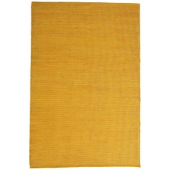 Tatami Standard Yellow Wool and Jute Rug by Nani Marquina & Ariadna Miquel