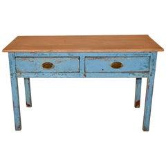 19th Century English Pine Sideboard