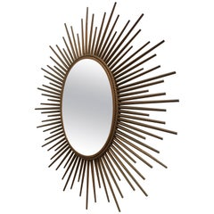 Chaty Vallauris Oval Sunburst Mirror