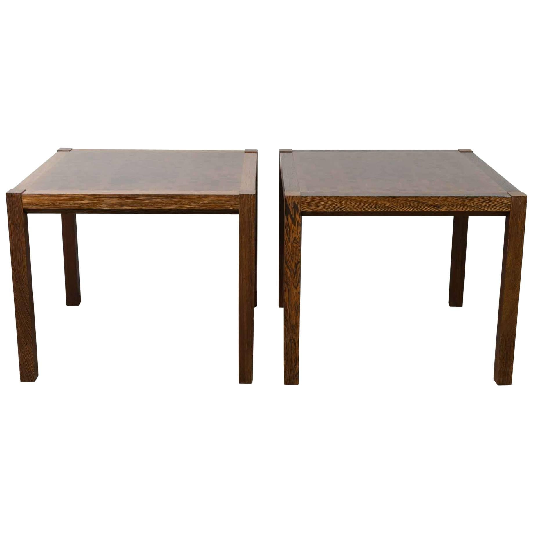 Midcentury 1970s Pair Of Rolf Middelboe U0026amp; Gorm Lindum Wenge Sofa Coffee  Tables