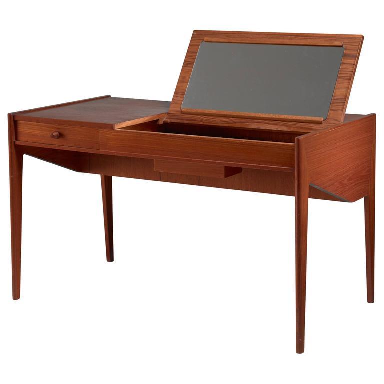 Aksel Kjersgaard Vanity Desk, Denmark, 1950s