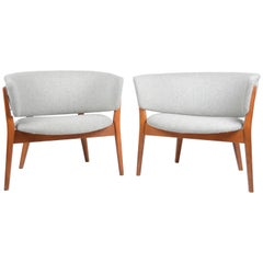 Nanna Ditzel Armchairs, Model ND 83