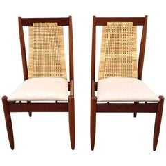 Frank Kyle Pair of Chairs Wicker
