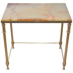 Maison Jansen Onyx Side Table