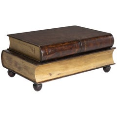 Leather Cladded Book Coffee Table, circa 1950