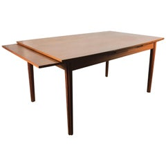 Stunning Danish Teak Expandable Dining, Surfboard by Drylund