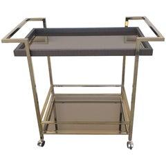 Italian Modern Bar Cart