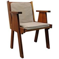Chair by Angelo Mangiarotti for Club 44 in La-Chaux-de-Fonds, Switzerland