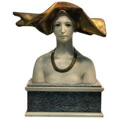 Female Bust Art Nouveau Style by Benvenvyl