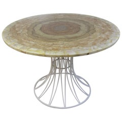 Arturo Pani for Muller Onyx Dining Table