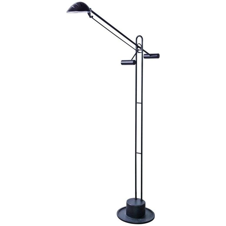Robert Sonneman Style Balance Arm Adjustable Floor Lamp