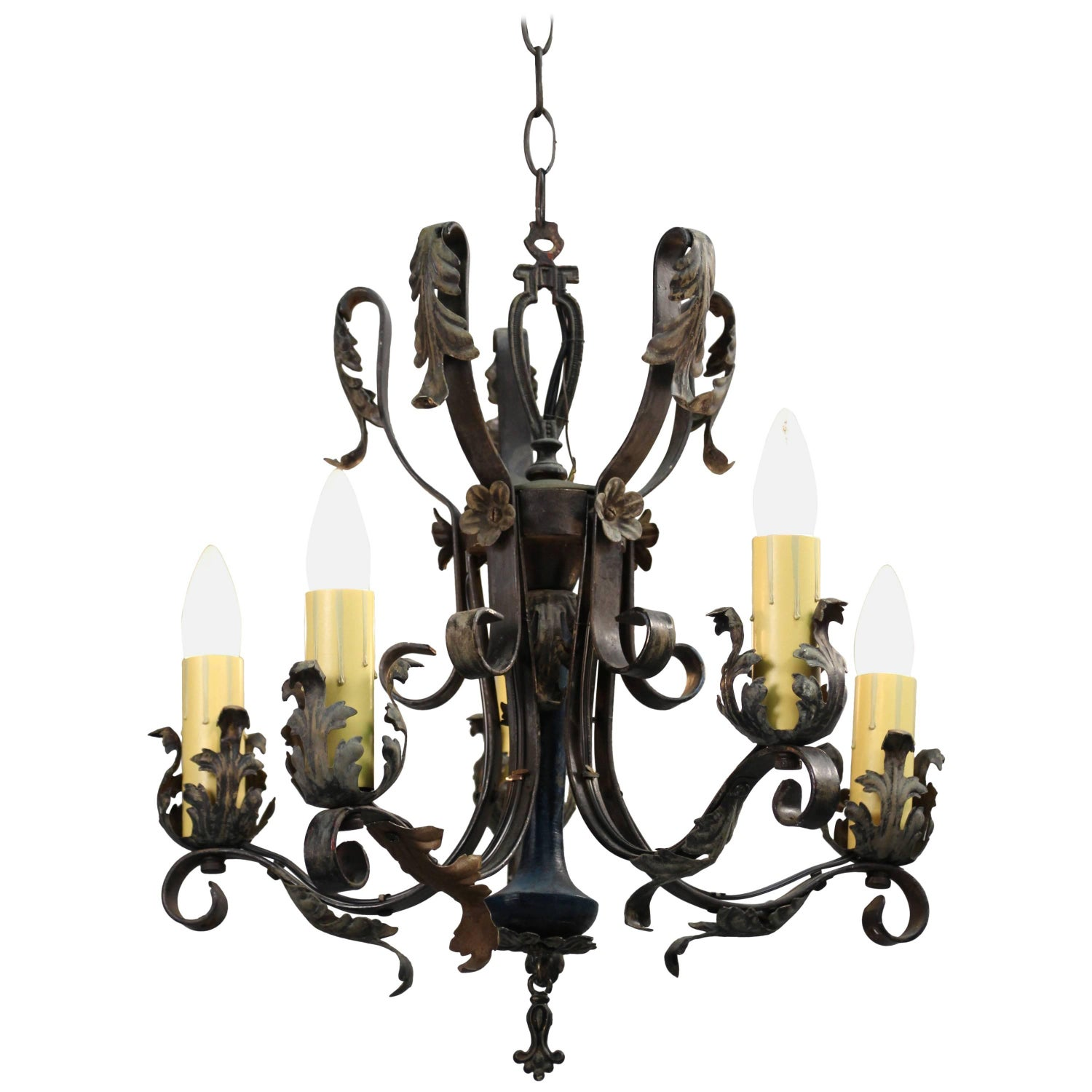 Spanish Colonial Chandeliers and Pendants 90 For Sale at 1stdibs