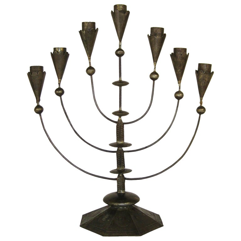 William Spratling, Tin Candelabra, Taxco, Mexico, circa 1935 1