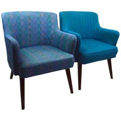 Two Occasional Chairs Attributed to Probber