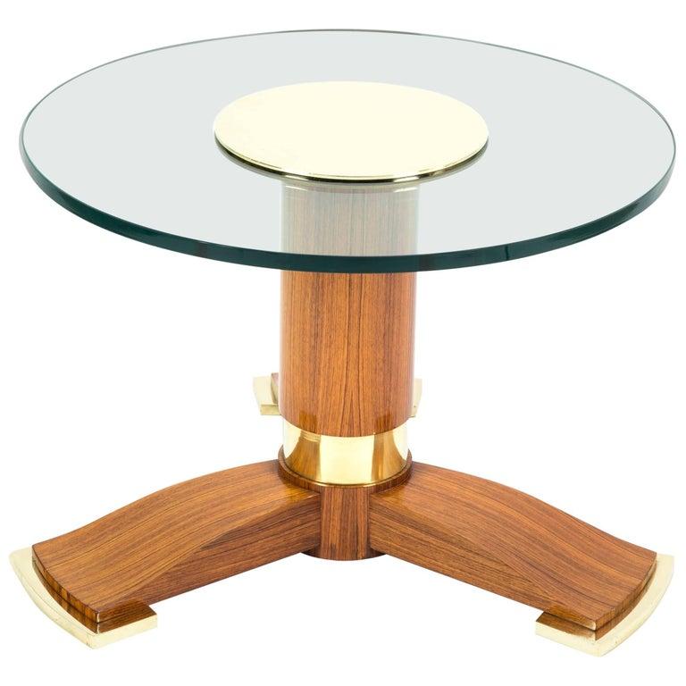 Jules Leleu Side Table or Coffee Table