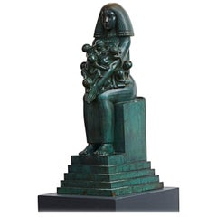 "Jens Jakob Bregnø, ""Mother of the Nile"" Bronze"