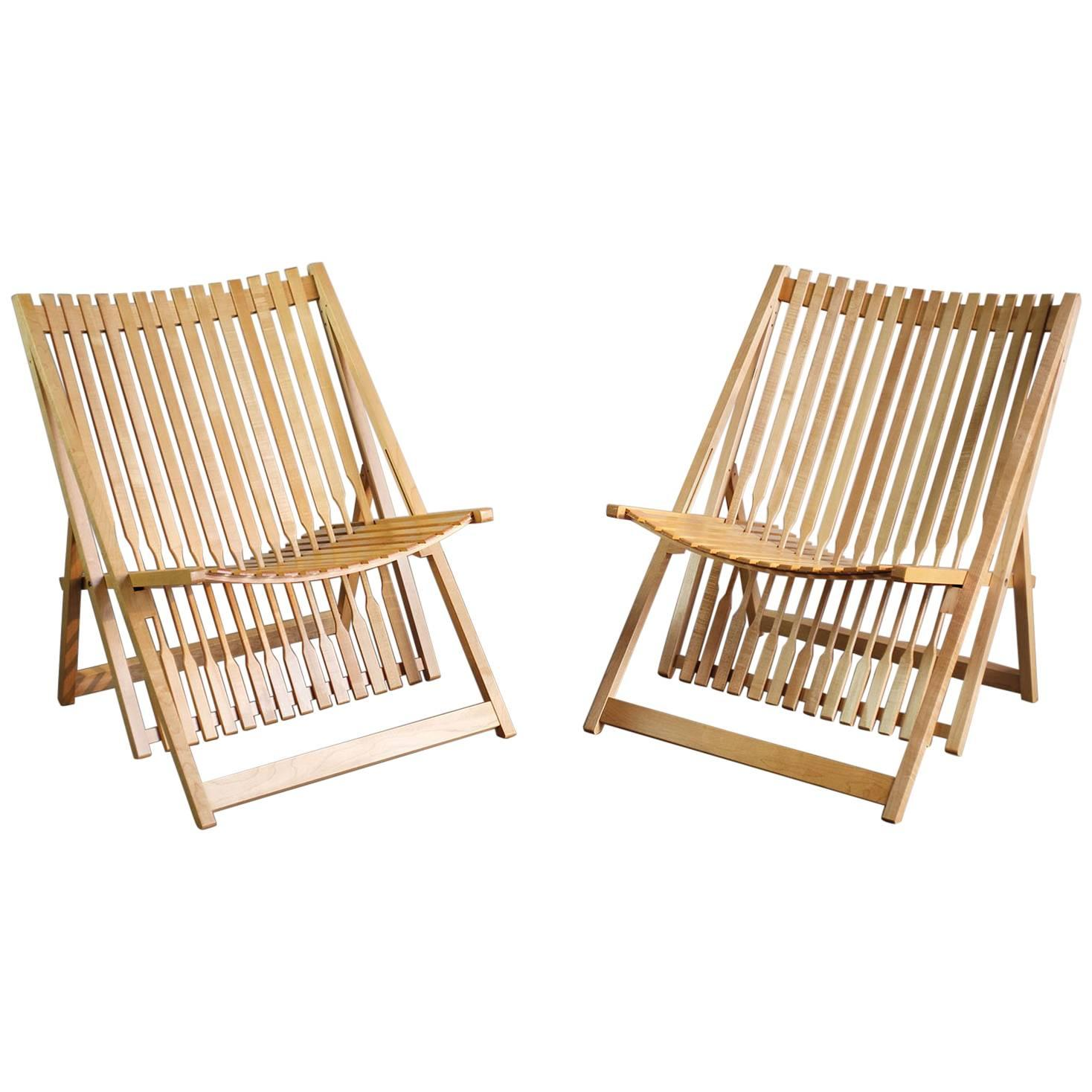 Jean Claude Duboys, Pair Of A1 Armchairs, France, 1980