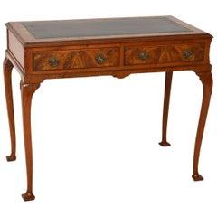 Antique Burr Walnut Writing Table