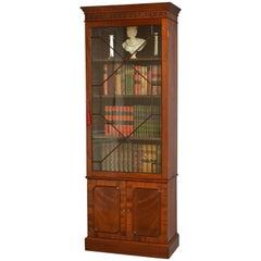 Slim Edwardian Bookcase