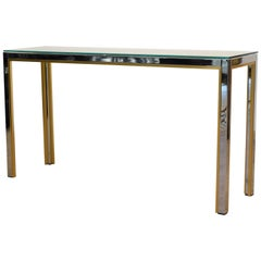 Console Table by Renato Zevi for Romeo Rega, 1970s
