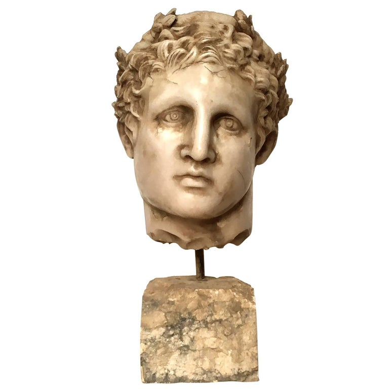 20th Century Classical Stone Bust