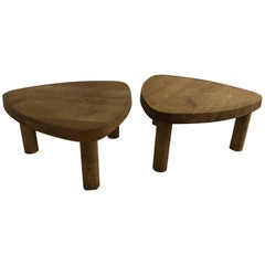 Coffee Tables T23 by Pierre Chapo