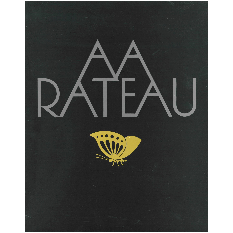 A A (Armand Albert) Rateau, Book and Catalogue