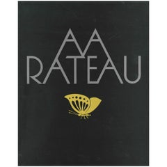 A A (Armand Albert) Rateau, Book and Catalogue