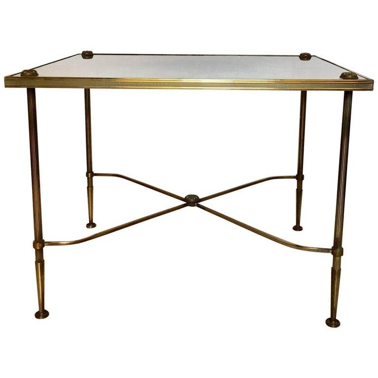 Brass Midcentury Coffee Table