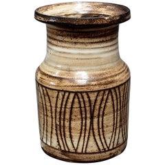 Ceramic Vase by Jacques Pouchain, Atelier Dieulefit, circa 1960s
