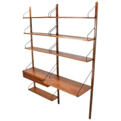 Royal Teak Wall Unit by Poul Cadovius Danish Design Midcentury