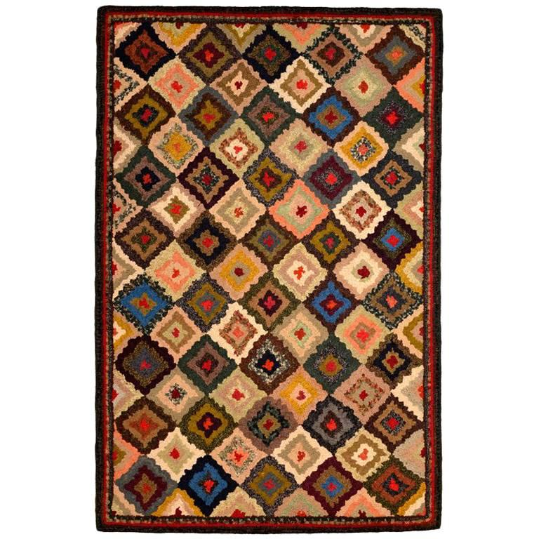 New Hooked Rug by Stephen T Anderson