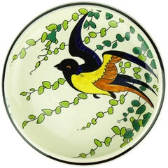 Art Deco Keramis Boch Plate
