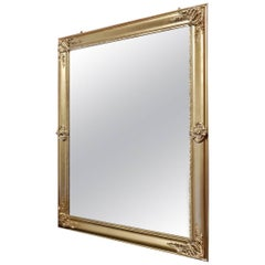 Elegant Napoleon III Big Mirror, France 19th Century