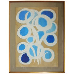"""Abstract Painting by Emlen Etting """"Eclat Du Jour"""", 1964"""