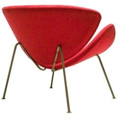 Early Orange Slice Chair by Pierre Paulin