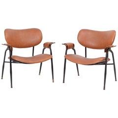 Pair of Gastone Rinaldi for RIMA Chairs, circa 1950