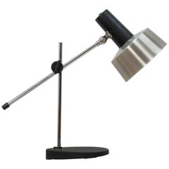 Anvia Adjustable Desk Lamp 6050, Brushed Aluminum, 1970s