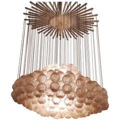 Zero 4 Nuvola Murano Glass Chandelier, 1970