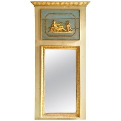 19th Century French Empire Period Trumeau Mirror