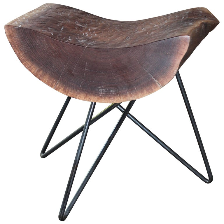 Kirikabu Minimal Modern Reclaimed Wood Side Table