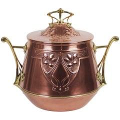 Art Nouveau WMF Covered Pot