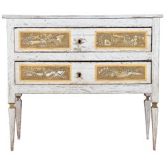 19th Century Italian Painted Chest of Drawers