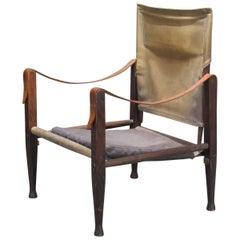 Canvas Safari Easy Chair by Kaare Klint for Rud Rasmussen