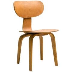 Pastoe SB02 Combex Series Dining Chair in Birch by Cees Braakman