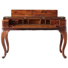 Late 19th Century Queen Anne Style Rosewood Spinet Desk