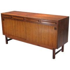 Danish Modern Rosewood Sideboard by Bordum OG Nielsen