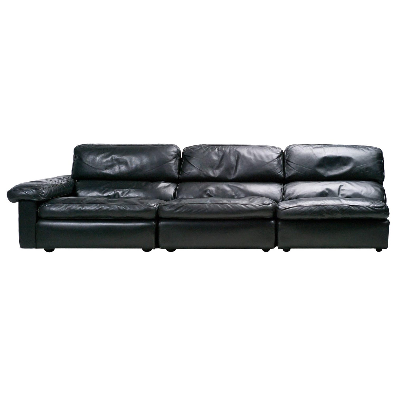 Poltrona Frau Petronio Sectional Sofa by Agnoli For Sale at 1stdibs